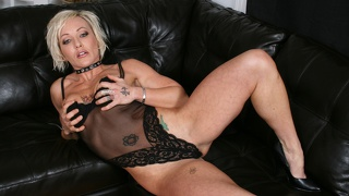 Denise Enjoys This Evening And Her Vibrator