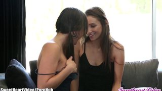Sweetheart Sinn Sage And Celeste Starr Wet Panties