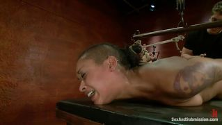 Tied Black Girl Fucked From Behind