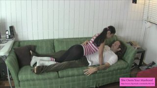 Cute And Evil Chemistry Partner 1 Preview - Ballbusting