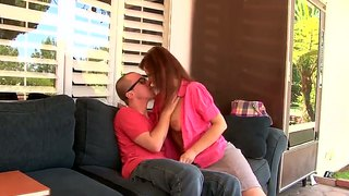 Syren De Mer Gives Her Son-In-Law A Blowjob