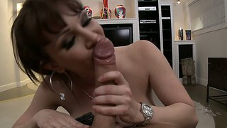 Sexy Mom Rayveness Loves To Suck Cock Pov Style!