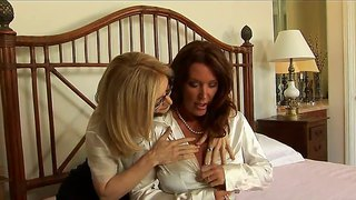 Busty Nina Hartley And Rachel Steele Have Sex Fun