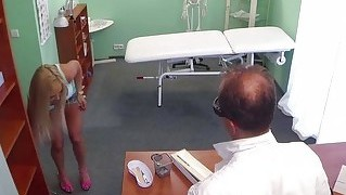 Blonde Jenna Gets Banged By Her Doctor