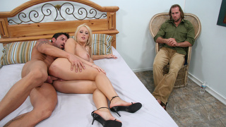 Perfect Blonde Candy Manson Cheating On Her Hubby