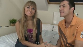 James Brossman Relaxes With Teen Girl Milla