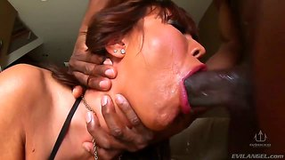 The Mom Ava Devine Throat Fucked Hard