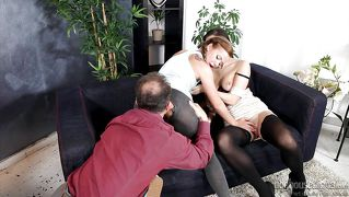 He Kisses Her Ass @ Mom And Dad Are Fucking My Friends #13