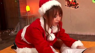Asian Girl Akiho Yoshizawa - Santa, That Sucks A Dick