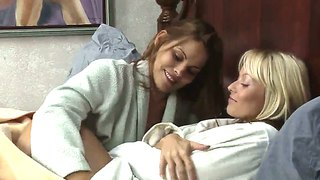 Heather Silk And Jana Cova Fingering Each Other