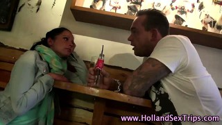 Dutch Hooker Eats Out Lesbo