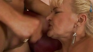 Naughty Old Bitch Gets Fucked Hard