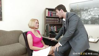 Blonde Student Gets Loose