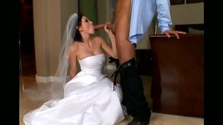 bride white stockings