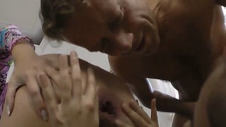Eliza And Helen B Enjoy Geting Fucked In Their Asses By Rocco Siffredi And Anal Beads