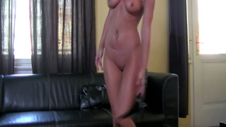 Blonde Casting Babe Receives Oral From Brunette Casting Dire...