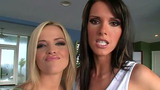 Alexis Texas And Jennifer Dark Share Toni Ribas