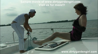 Frenk Torelli And Dirtygardengirl Boat Prolapse Fist & Fuck