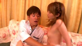 Hottie Asian With Small Tits Miku Ohashi Enjoys Fucking With Her Horny Boyfriend