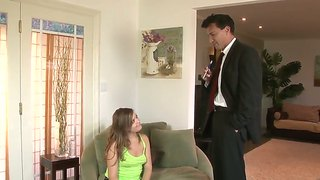 Nasty Teen Ashlynn Leigh Seduces A Family Friend