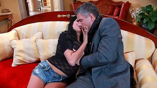 Anissa Kate Plays With The Hard Gadget Of Mick Blue