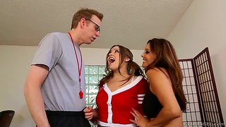 Ashlynn Leigh, Francesca Le And Mark Wood
