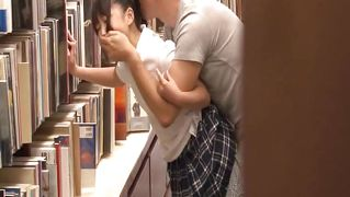 Pervert In Book Store Fucks Cute Japanese Teen
