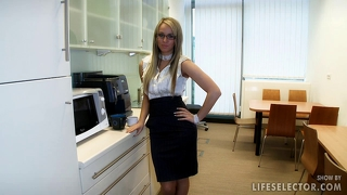 Office Sex With Aletta Ocean And Brandy Smile