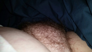 Wifes Tired Hairy Pussy Early In The Morning
