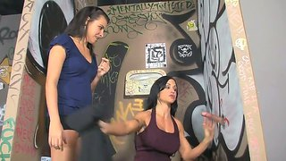 Danica Dillon And Jewels Risk To Have Their Mouths Banged