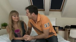 James Brossman Pushes His Hands Underneath Milla's Panties