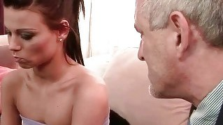 Old Man Fucks Beautiful Teen