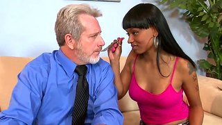 The Hot Housekeeper Porscha Carrera Sucks A Big Dick