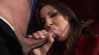 Hot Brunette Fucks A Guy.