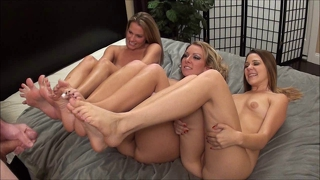 3 Pairs Of Feet 1 Cock