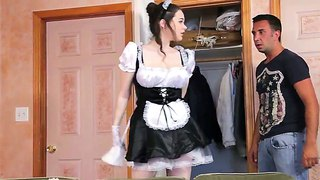 Tessa Lane Is A Sweet And Slutty French Maid!