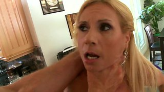 Milf With Huge Tits Enjoys Riding And Sucking Dick