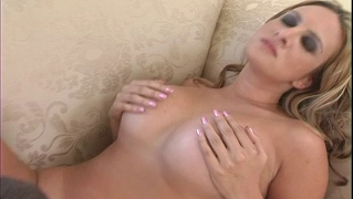 Sexy Blonde Milf Slut With Big Tits Rides Young Cock