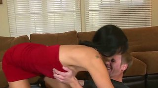 Hot Man Relaxes With Cougar Zoey Holloway