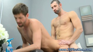 Tight Ass Muscley Gay Gets Rimmed