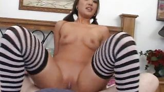 Pretty Asian Loves To Ride My Dick