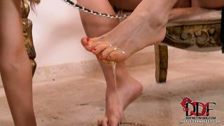 Slave Girl Gets A Toe Tasting