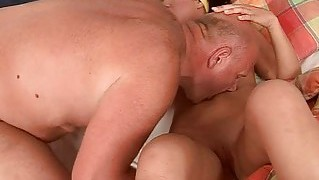 Grandpa And Teen Making Love