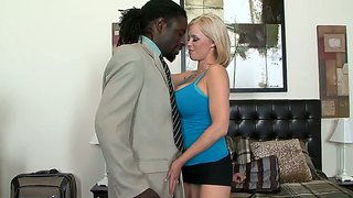 Lusty Milf Katie Kox Gives Head To Nathan Threat