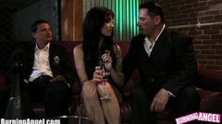 Burningangel Juliette Black Night Out Threesome