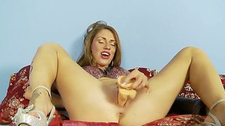 Scarlett Wild  Plays With A Variety Of Sex Toys