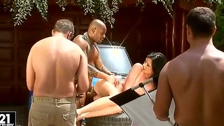 Nicole's Backstage Car Seduction And Pounding