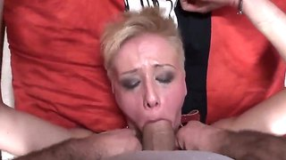 Blond Deepthroat Solo Bj