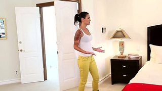 Fascinating Wench Dana Vespoli And Maddy Oreilly Making Lesbian Love