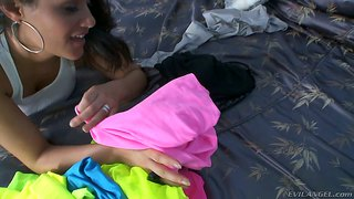 Charley Chase Fucked Hard In Sexy Pink Spandex